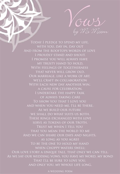 wedding ceremony readings 1000 images about wedding vows quotes on marriage on vows wedding vows and