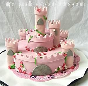 Gateau Anniversaire Petite Fille : gateau chateau de princesse p te sucre gateau 3d prunille fait son show ~ Melissatoandfro.com Idées de Décoration