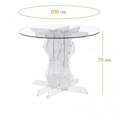 Table Ronde 100 Cm Table De Repas Design Au Meilleur Prix Baroque Table