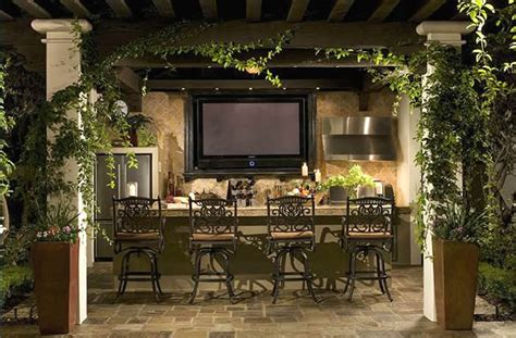 outside kitchen design ideas 37 outdoor kitchen ideas designs picture gallery 3885