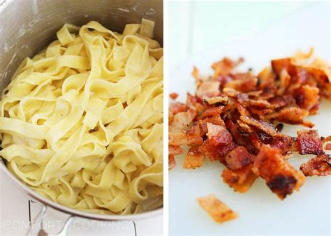 cooking light alfredo sauce fettuccine alfredo with bacon cooking light