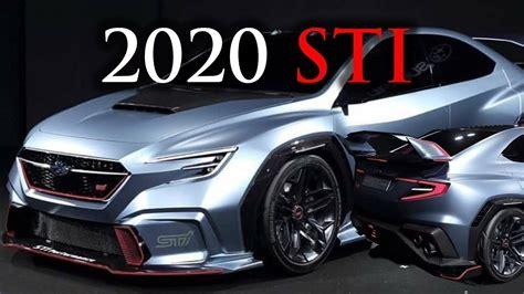 subaru wrx sti 2020 concept 2020 subaru wrx sti concept overview