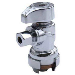 sharkbite  lf angle shut  water valve  ice maker installation