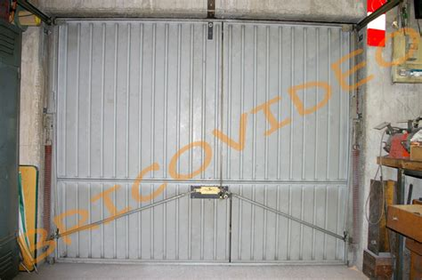 comment securiser porte garage basculante tableau isolant thermique
