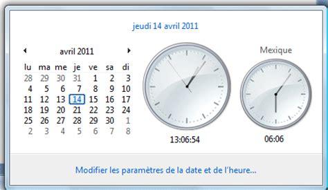 afficher horloge sur bureau comment afficher horloge sur bureau vista