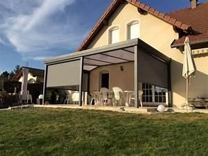 Pergola Murale Alu : auvents pergolas alu bois pour terrasse en lorraine ~ Edinachiropracticcenter.com Idées de Décoration