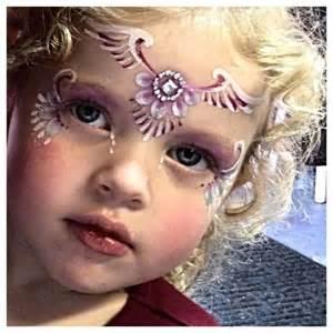 Angel Face Paint Design