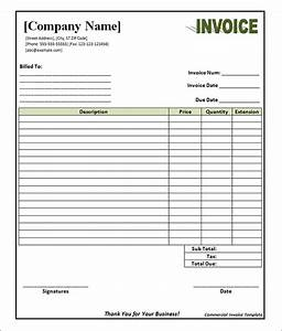 best photos of blank sample invoice template blank With blank commercial invoice template