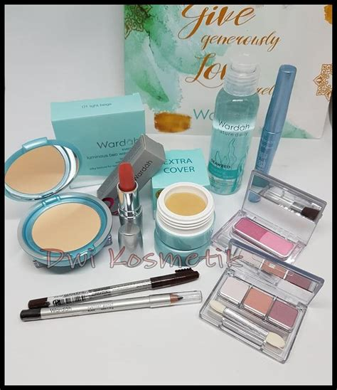 Daftar Harga Make Up Merk Wardah 1 set alat make up wardah murah saubhaya makeup