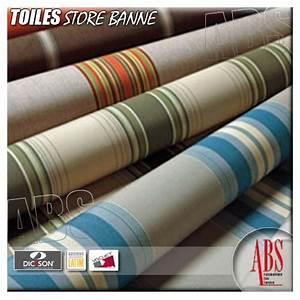 Toile Pour Store Banne : toiles et coloris dickson store banne abs boxes ~ Dailycaller-alerts.com Idées de Décoration