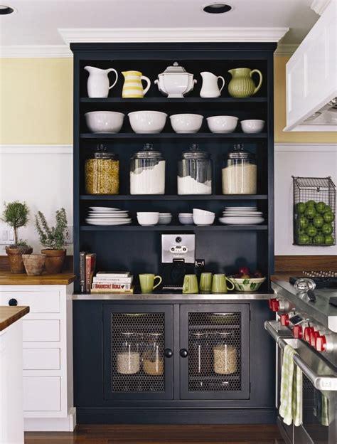 open shelf kitchen cabinet ideas kitchenkitchens design open shelves built in black