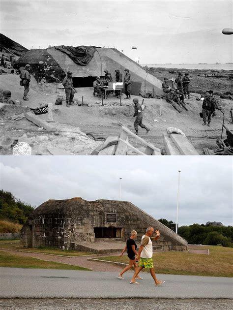 day die straende der normandie damals und heute
