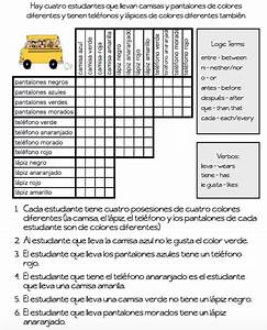 Logic Puzzles  U2013 The Comprehensible Classroom