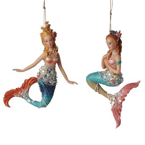 mermaid ornament ideas  pinterest seashell
