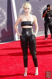 Miley Cyrus In Alexandre Vauthier Couture At The 2014 MTV