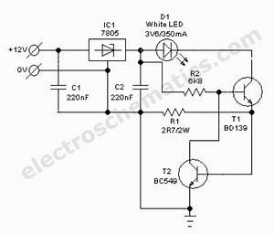auto white led light circuit schematic schematics With automotive electronic circuits