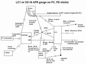 Power Fc My Power Fc  Lc-1  Xd-16  Datalogit Wiring Diagram - Rx7club Com