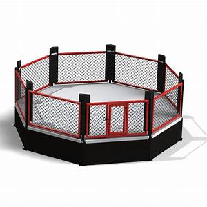 MMA Cage - 5.5m Raised Octagon | Boxing/Kickboxing/MMA | SMAI