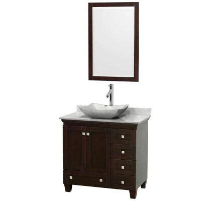36 inch bathroom vanity with top 400 design element 36 in w x 22 in d vanity in