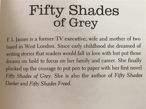 Fifty Shades Of Grey Synopsis by Book Review Quot Fifty Shades Of Grey Quot Is One Primary School Composition Goh