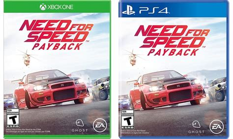 need for speed ps4 payback need for speed payback for ps4 or xbox one groupon
