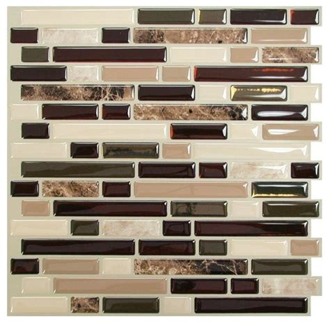 smart tiles peel and stick bellagio mosaik smart tiles bellagio mosaik peel and stick wall tile