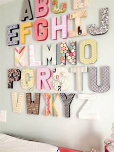modge podge cardboard letters from hobby lobby with With paper alphabet letters for wall