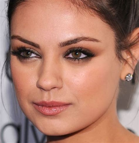 Mila Kunis Best Eye Makeup Fashion Pinterest Mila