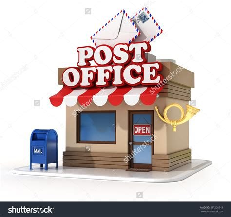 bureau post it post office clipart clipartsgram com