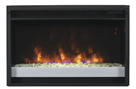 spectrafire contemporary electric fireplace insert