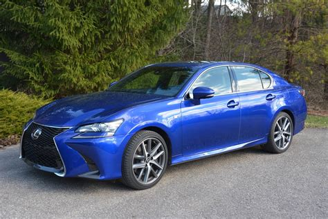 lexus gs300 blue 2017 lexus gs 350 f review gtspirit