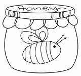 Honey Pot Coloring Drawing Scribbles Challenge Friday Freebie Getdrawings Printable Drawings Paintingvalley Getcolorings sketch template