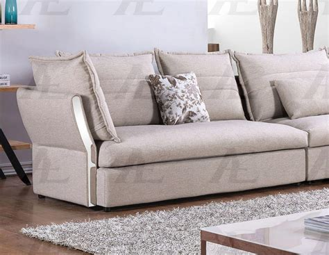 Gray Tufted Loveseat by American Eagle Ae L2319 Gray Fabric Tufted Sofa Chaise And