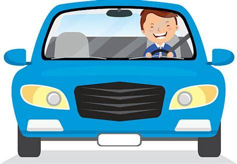 Blue Car Clipart Person Clipart