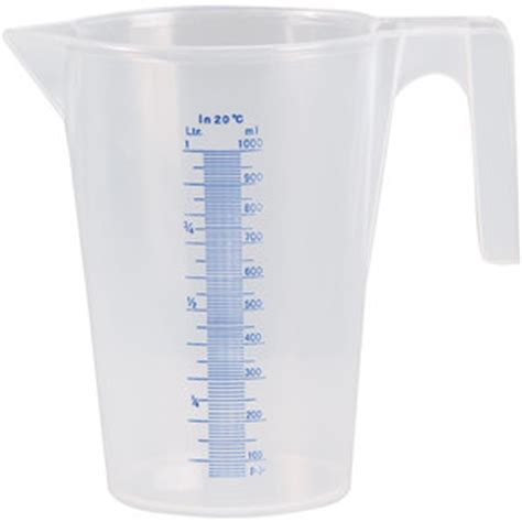 In Liter by Buy 1 Liter Measuring Cup With Scale Transparent Louis