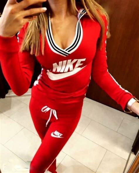 Jumpsuit nike sportswear crewneck red tracksuit pants workout leggings workout leggings ...