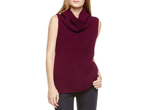 sleeveless turtleneck sweater two by vince camuto sleeveless turtleneck sweater in