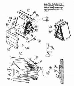 Coil Assy Diagram  U0026 Parts List For Model Fsm2x4200a1 Icp