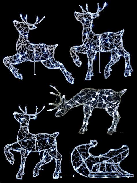 cm light  reindeer outdoor christmas decoration garden