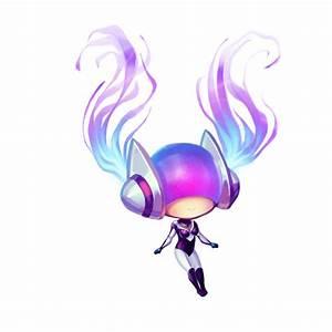 LoL - DJ Sona Ethereal Animated Chibi Frame 2 by cubehero ...