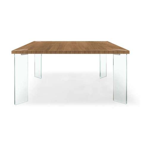 table carr 233 e design en m 233 lamin 233 et verre concrete 4 pieds tables chaises et tabourets