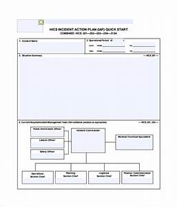 incident action plan template 7 free sample example With hospital action plan template