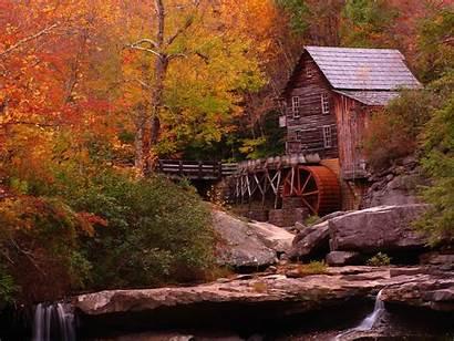 Landscapes Rainy Wallpapers Landscape Fall Autumn Amazing