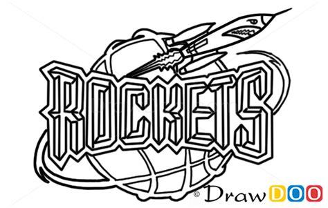 draw houston rockets basketball logos   draw drawing ideas draw