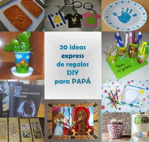 20 ideas express de regalos diy para papa manualidades