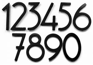 bungalow style house numbers letters satin black 5 With black house numbers and letters