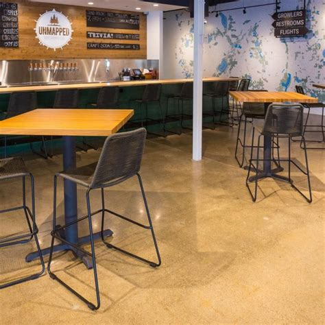 a shuffleboard table unmapped brewing transforms with wood table tops timeworn 7337