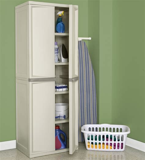 sterilite 4 shelf cabinet by sterilite online cabinets