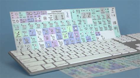 Adobe Lightroom Galaxy Series Keyboard Stickers From Www