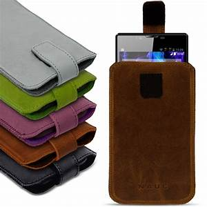 Smartphone Tasche Leder : universal smartphone leder tasche pull tab sleeve h lle schutzh lle case cover handy taschen ~ Orissabook.com Haus und Dekorationen